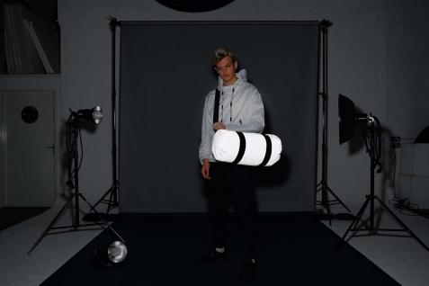 Bag Base REFLECTIVE BARREL BAG