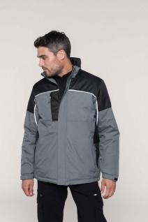 Kariban Gefütterte Workwear Jacke