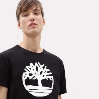 Timberland T-Shirt aus biologischem Stoff Brand Tree