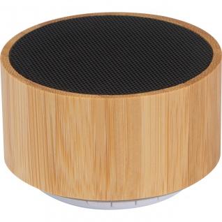 MACMA Bluetooth Lautsprecher mit Bambusummantelung