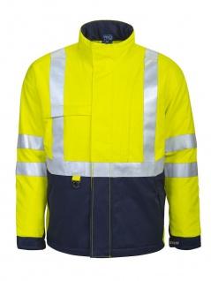 Projob 8404 Gefütterte, Flammenhemmende Warnschutz-Jacke