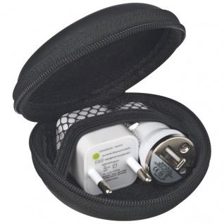 Macma Travel Set mit EU Stecker und USB-Ladegerät