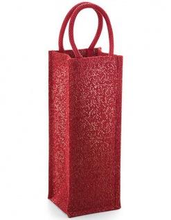 Westford Mill Shimmer Jute Bottle Bag