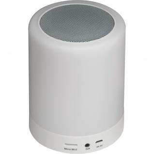 MACMA Bluetooth Lautsprecher mit wechselnder Beleuchtung