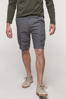Kariban Leichte Bermuda-Shorts für Herren