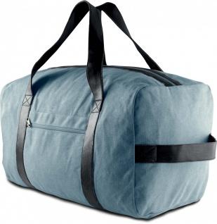 Ki-Mood Reisetasche aus Baumwoll-Canvas 51x30x30 cm