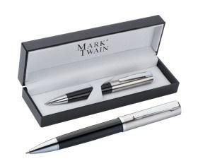 Mark Twain Hochwertiger Metall-Kugelschreiber VE 25 Stück