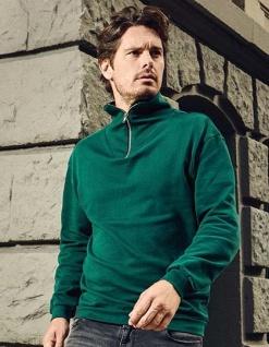 Promodoro Herren Sweatshirt mit Reißverschluss