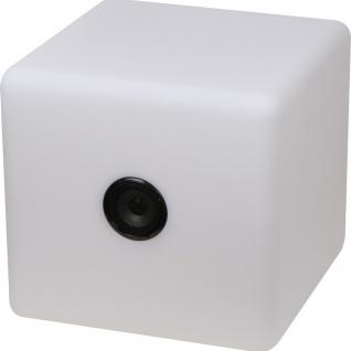 MACMA XXL Bluetooth Lautsprecher mit wechselnder LED-Beleuchtung, 2.200 mAh
