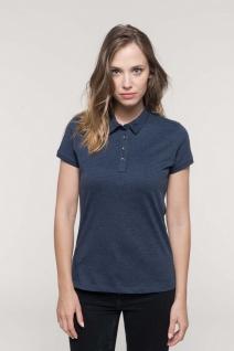 Kariban Jersey-Kurzarm-Polohemd für Damen