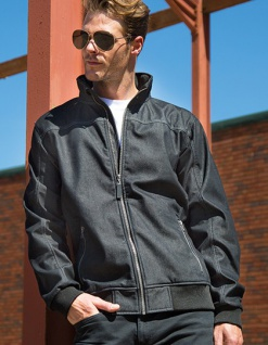 Result Denim Softshell Jacket