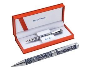 Mark Twain Kugelschreiber aus Metall VE 10 Stück