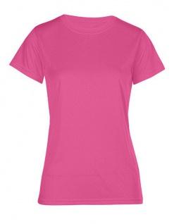 Promodoro Damen Kurzarm-Sport-Shirt