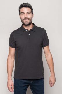 Kariban Kurzarm-Polohemd für Herren im Vintage-Stil