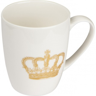 MACMA Tasse mit Kronen-Aufdruck, 300 ml