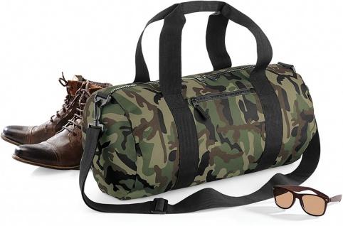 Bag Base Camo Barrel Bag