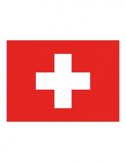 Printwear Fahne Schweiz