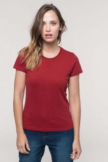 Kariban Kurzarm-Vintage-T-Shirt für Damen