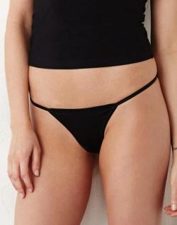 Bella + Canvas Damen Spandex Thong Bikini