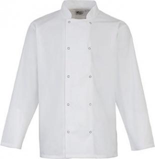 Premier Long Sleeve Press Stud Chef's Jacket