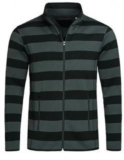 Stedman® Striped Fleece Jacket
