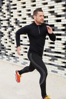 PRO ACT Running-Langarm-Shirt mit 1/4 Reißverschluss