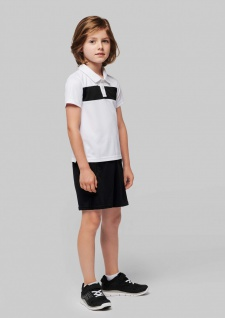 PRO ACT Kurzarm-Polohemd für Kinder