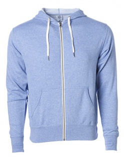 Independent Unisex Midweight French Terry Zip Hood