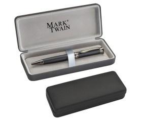 Mark Twain Drehkugelschreiber aus Metall VE 25 Stück