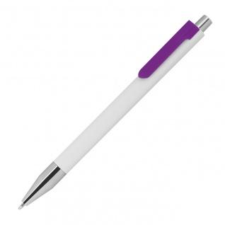 MACMA Kugelschreiber mit farbigen Clip