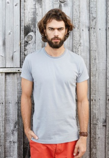 Kariban Herren Vintage Kurzarm T-Shirt