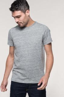 Kariban Kurzarm-Vintage-T-Shirt für Herren