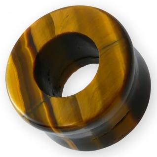Stein Flesh Tunnel ohr plug piercing expander ohrringe quarz mineral