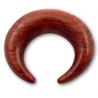Holz Expander ohr dehnungssichel claw ear taper wood piercing plug flesh tunnel