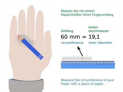 925 Silber Ring mit Damen Herren breit Bandring Kelten Schmuck Knoten Muster - Vorschau 4