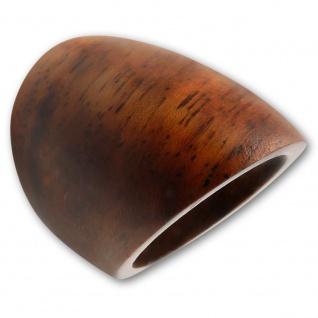 Klassischer Holz Ring goa natur schmuck native boho ethno vintage hippie retro
