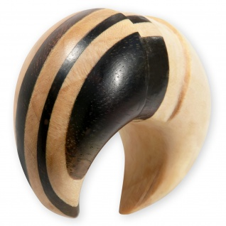 Holz Ohr Klaue claw sichel piercing pincher talon wood organic flesh plug tunnel