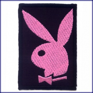 Aufbügler Playboy playmate bunny nude penthouse pink sex rosa emo aufnäher patch