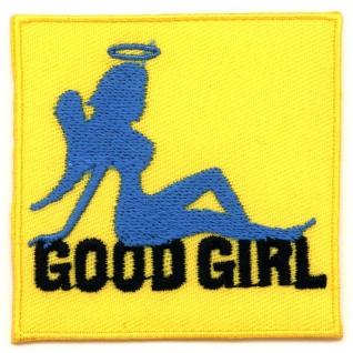 Aufbügler Engel angel punk rock rockabilly good girl hot rod xxx aufnäher patch