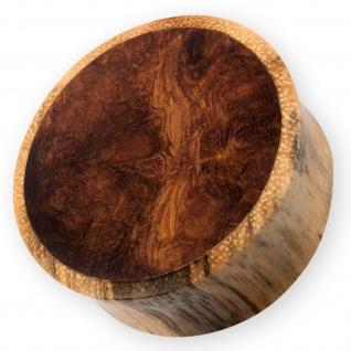 Holz Ohr Plug Wüsteneisenholz Zebra-Tamarinde flesh tunnel piercing horn knochen
