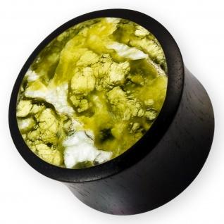10-22mm Holz Plug ohr piercing ear flesh tunnel wood organic schmuck horn jade