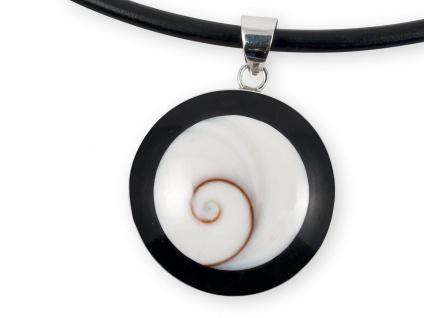 Kettenanhänger Damen Shiva Auge 925 Silber Anhänger Schmuck Shivas Auge Eye