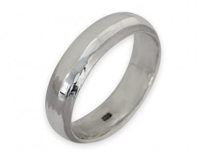 Band Ring 925 Silber Damen Herren Freundschaftsring Partnerring breit Daumenring - Vorschau 3