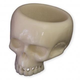 Herren Ring Totenkopf Knochen Schmuck Keith Richards Style (15.6 -23.5 mm) brn020
