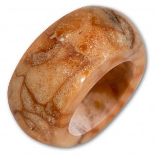 XL Koralle Ring exklusiv damen schmuck fashion ethno boho muschel vintage hippie - Vorschau 2