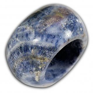 XL Koralle Ring exklusiv damen schmuck fashion ethno boho muschel vintage hippie - Vorschau 4
