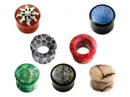 Korallen Plug Flesh Tunnel Dehnspirale Ohr Expander Viele Farben 18 Varianten
