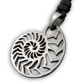 Anhänger Nautilus Ammonit Kette Surfer Taucher Tribal Damen Surf Schmuck Maui