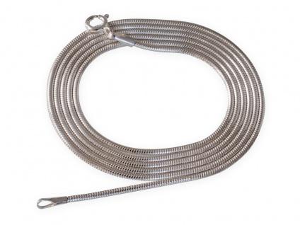 Schlangenkette Sterling Silber 925 Damen Kette Anhänger Collier Halskette