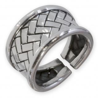 Damen Ring 925 Silber Karen Hill Tribe Schmuck Silberring risi065_schmal